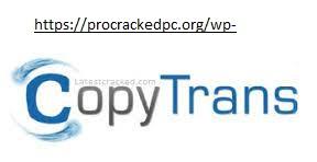 CopyTrans 6.202 Crack