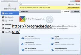 Sticky Password 8.3.1.8 Crack With Serial Key 2021 Download Free