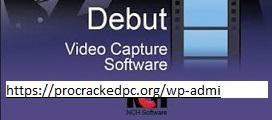 Debut Video Capture 7.31 Crack 2021