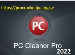 PC Cleaner Pro 2022 Crack